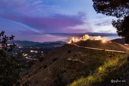 Atardecer Castillo de Álora