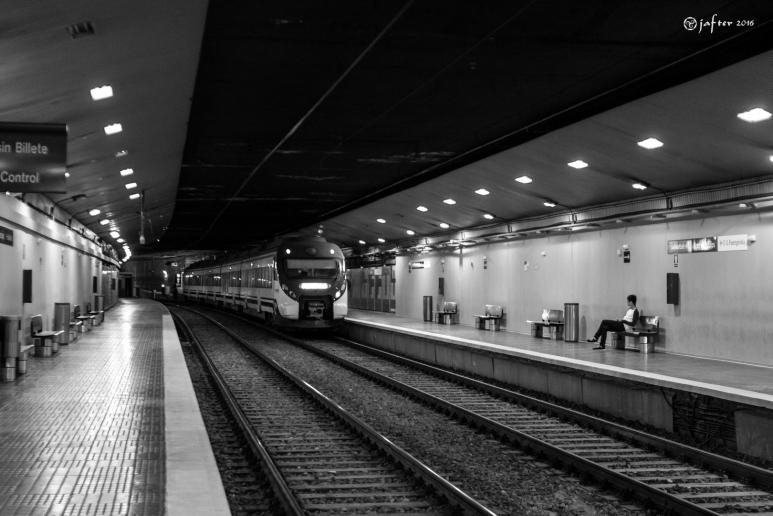 Esperando al ultimo tren