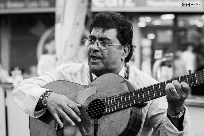 Guitarra callejera