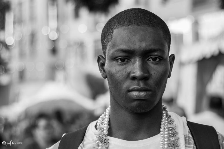 Retrato callejero africa