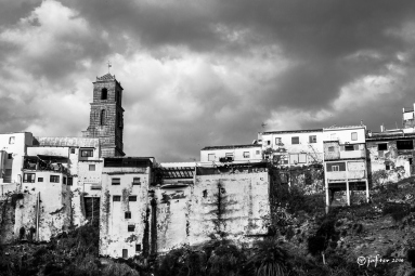 Torre de la iglesia de Alora